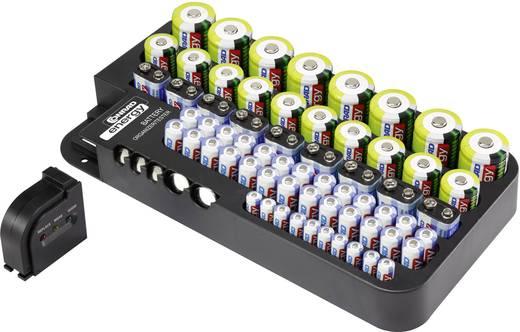 Elemtartó doboz tesztelővel, Conrad Energy