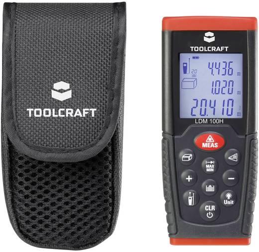 Lézeres távolságmérő, max. 100 m-ig Toolcraft LDM100H