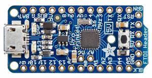 Adafruit Fejlesztői panel Adafruit Pro Trinket - 5V 16MHz AVR® ATmega ATMega328 Adafruit