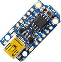 Adafruit Fejlesztői panel Adafruit Trinket - Mini Microcontroller - 3.3V Logic - MicroUSB AVR® ATtiny ATtiny85 Adafruit