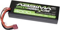 Absima Akkucsomag, LiPo 7.4 V 4000 mAh Cellaszám: 2 45 C Keménydoboz T-dugaszoló rendszer Absima