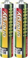 Mikro ceruza akku AAA, 2 db, NiMH, 1,2 V, 800 mAh, Conrad Energy Endurance (1519674) Conrad energy
