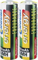 Ceruza akku AA, 2 db, NiMH, 1,2 V, 2300 mAh, Conrad Energy Endurance (1519675) Conrad energy