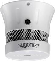 Mini füstérzékelő, elemes füstjelző, 10 éves élettartalmú elemmel, Sygonix Sygonix