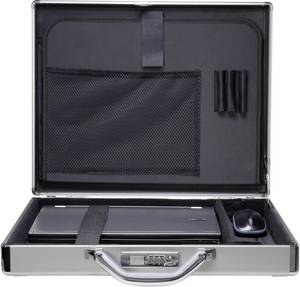 "Aluminium koffer, notebook táska 39,6 cm (15,6"") Renkforce JJV-2003S Renkforce"