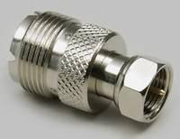 UHF adapter, UHF aljzat - F dugó, Tru Components (1577809) TRU COMPONENTS