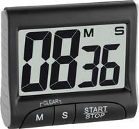 Visszaszámláló óra, timer, fekete, digitális, TFA TFA Dostmann