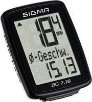 Kerékpár komputer, Sigma BC 7.16 Sigma
