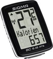 Vezeték nélküli kerékpár komputer, kódolt, Sigma BC 9.16 ATS (09162) Sigma