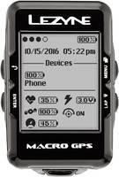 Vezeték nélküli kerékpárkomputer grafikus kijelzővel, Lezyne Macro GPS Computer Bluetooth (457000064) Lezyne