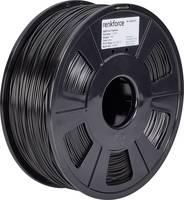 3D nyomtatószál, 1,75 mm, ABS műanyag, fekete, 1 kg, Renkforce 01.04.12.1103 Renkforce