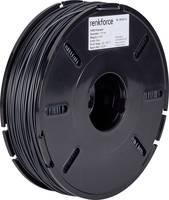 3D nyomtatószál, 1,75 mm, HIPS, fekete, 500 g, Renkforce 01.04.03.5103 Renkforce