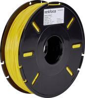 3D nyomtatószál, 1,75 mm, TPE műanyag, sárga, 500 g, Renkforce 01.04.13.5112 Renkforce