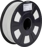 3D nyomtatószál, 1,75 mm, PLA, fehér, 1 kg, Renkforce 01.04.01.1102 Renkforce