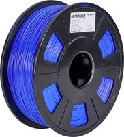 3D nyomtatószál, 1,75 mm, PLA, kék, 1 kg, Renkforce 01.04.01.1108 Renkforce