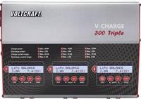 RC modell akkutöltő NiMH, NiCd, LiPo, Li-ion, LiFePO és ólomakkukhoz VOLTCRAFT V-Charge 300 Triple VOLTCRAFT
