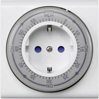 Konnektoros visszaszámláló időzítő, 60 perces, mechanikus, IP20, Sygonix Sygonix