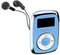 Intenso Music Movers MP3 lejátszó 8 GB Kék Rögzítő csíptető Intenso