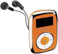 Intenso Music Mover MP3 lejátszó 8 GB Narancs Rögzítő csíptető Intenso