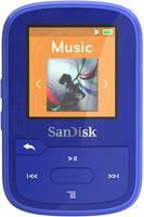 SanDisk MP3 lejátszó 16 GB Kék Rögzítő csíptető, Bluetooth, Vízálló SanDisk