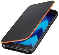 Samsung Neon Flip Cover EF-FA320 Flip tok Alkalmas: Samsung Galaxy A3 (2017) Fekete Samsung