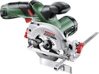 Bosch Home and Garden UniversalCirc 12 Akkus kézi körfűrész 85 mm Akkuval 12 V Bosch Home and Garden