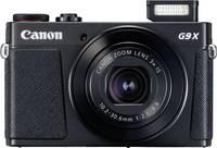 Canon G9 X Mark II Digitális kamera 20.9 Megapixel Fekete Full HD video, GPS, Bluetooth Canon