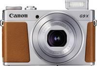Canon G9 X Mark II Digitális kamera 20.9 Megapixel Ezüst Full HD video, GPS, Bluetooth Canon