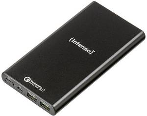 Powerbank, fekete, Intenso Q10000 LiPo 10000 mAh (7334530) Intenso