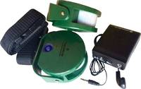 Vezeték nélküli mozgásérzékelő, vadállat érzékelő, vadász riasztó, Berger & Schröter 31623 (31623) Berger & Schröter