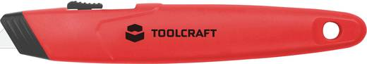 Rugós pengéjű papírvágó, kartonvágó kés, sniccer kerámia pengével 155 mm TOOLCRAFT 960101c004