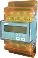 DIN sínre szerelhető 3 fázisú digitális fogyasztásmérő 100A, MID hiteles, PQ Plus CMD 68-101 MID (26.68.0101.CO) PQ Plus
