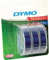 Feliratozó szalag 3 részes készlet DYMO S0847740 Szalagszín: Kék Szövegszín: Fehér 9 mm 3 m DYMO