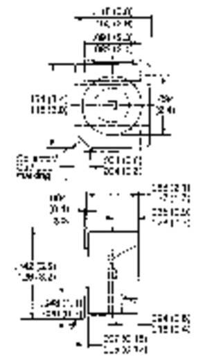 SMD LED, TOPLED, élénk piros LHT674-LN