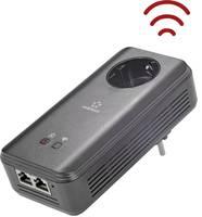 Powerline WLAN, konnektoros internet átvivő bővítő egység 1,2 Gbit/s, Renkforce PL1200D WiFi (RF-4613337) Renkforce