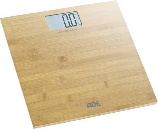 Digitális személymérleg 150 kg, bambusz, ADE BE 925 Martina