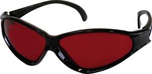 Lézerfény megfigyelő szemüveg, vörös színű lézerfényhez TOOLCRAFT 1010197 TOOLCRAFT