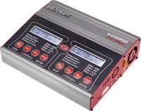 Multifunkciós modell akkutöltő, 12/230V 10A LiPo/LiIon/LiHV/NiCd/NiMH/Ólom, VOLTCRAFT V-Charge 200 Duo VOLTCRAFT