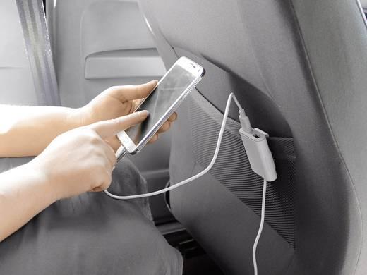 Szivargyújtós USB töltő, 4x USB, max. 9600 mA, Eufab 16471