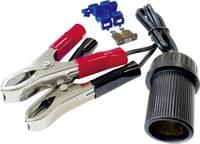 Akkucsipeszes szivargyújtó aljzat, krokodilcsipesszel, biztosítékkal 12V/10A BAAS BA11 (BA11) BAAS