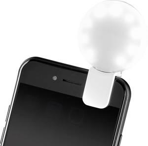 LED-es vaku, lámpa mobiltelefonhoz, rugós csipeszes felfogatással Basetech Selfie Light Basetech