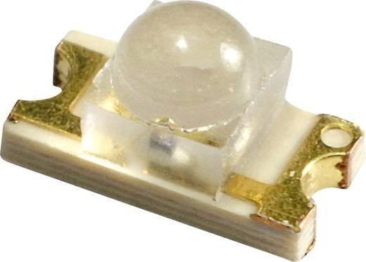 SMD LED lencsével sárga 500 MCD