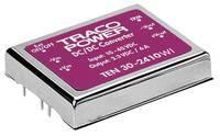 DC/DC átalakító, TEN 30 TracoPower TEN 30-4812WI, bemenet: 18 - 75 V/DC, kimenet: 12 V/DC max. 2,5 A 30 W (TEN 30-4812WI) TracoPower