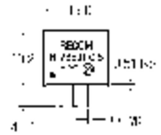 DC/DC átalakító, INNOLINE R-7815-0.5 SIP3