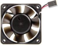 Számítógépház ventilátor 60 x 60 x 25 mm, NoiseBlocker NoiseBlocker