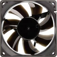 Számítógépház ventilátor 80 x 80 x 25 mm, NoiseBlocker BlackSlient Pro P-P NoiseBlocker