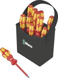 VDE csavarhúzó készlet, 11 részes, egyenes, pozidriv, phillips, TORX, Wera Kraftform 2go 100  Wera