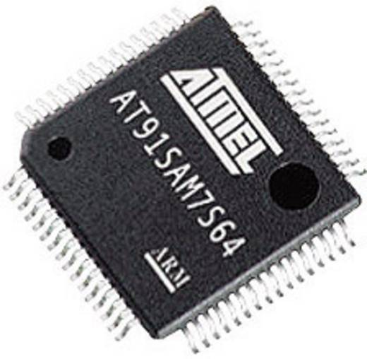 ATMEL® ARM processzor, QFP-64, 55 MHz, flash: 256 kB, RAM: 64 kB, Atmel AT91SAM7S256C-AU-001