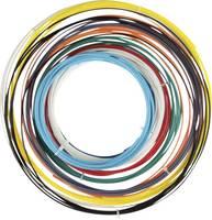Velleman PLA175SET6 Nyomtatószál csomag PLA műanyag 1.75 mm Fekete, Fehér, Piros, Ezüst, Sárga, Világoskék 1 db Velleman