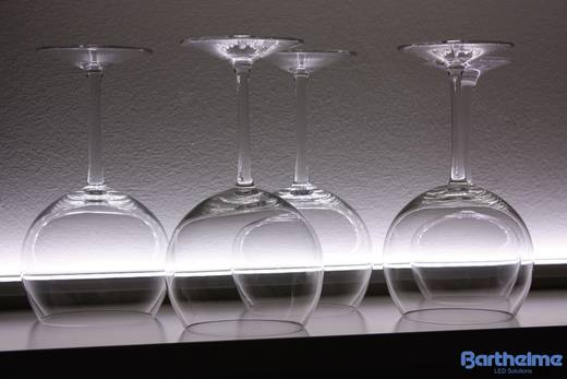 LED csík, fehér, 50,4 cm/36 LED, 24 V/DC, LEDlight flex 14, Barthelme 50051427